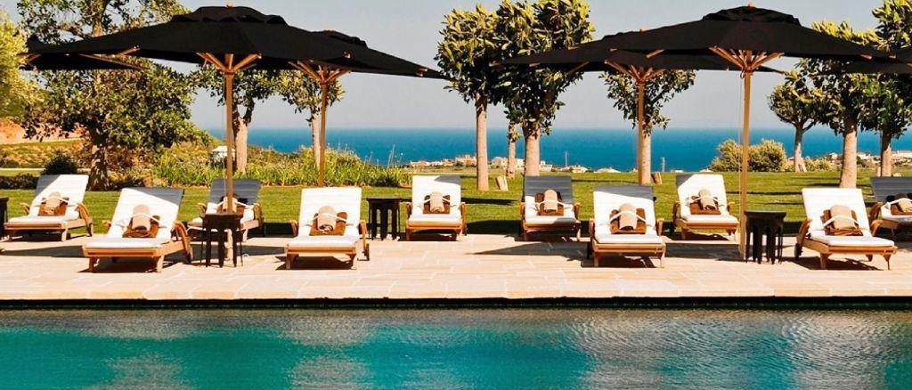 Swimmingpool of Finca Cortesin