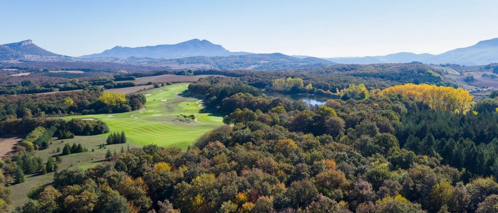Aerial view of Izki Golf